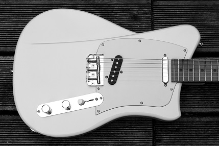 Pistol guitar - Satori white model